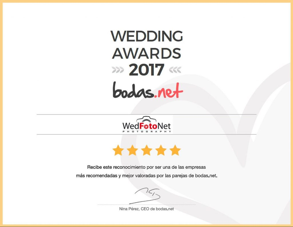 WedFotoNet - premio