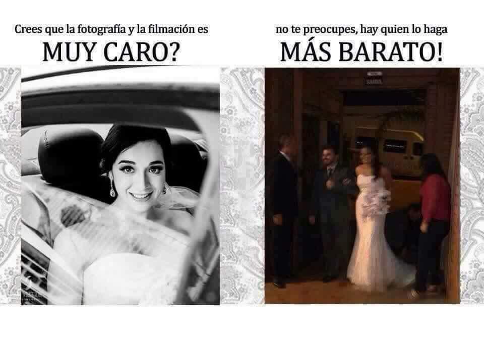 Precio fotografo de bodas