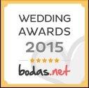 WedFotoNet ganador Wedding AWARDS 2015 de Bodas.net