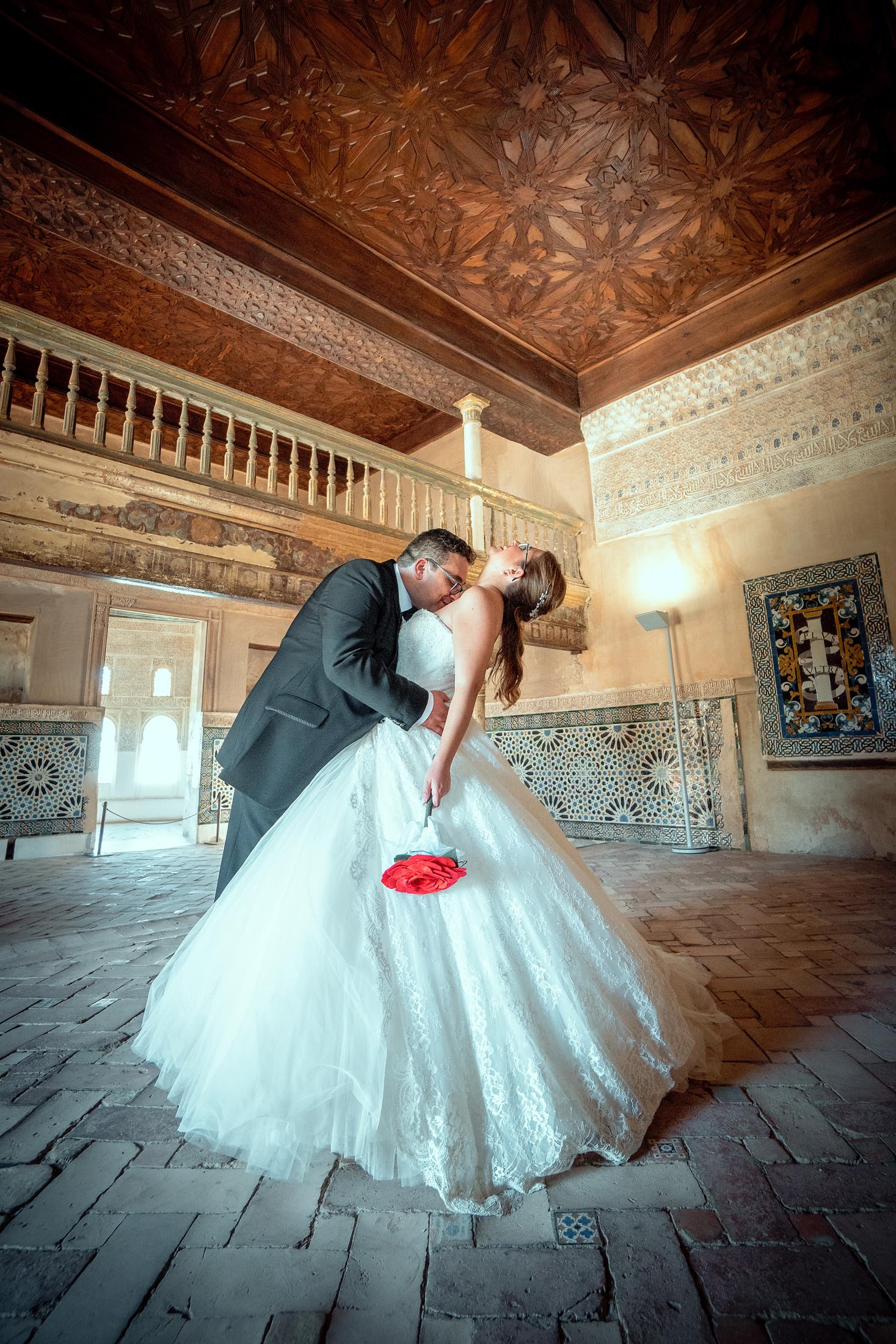 Fotógrafo de bodas Alhambra