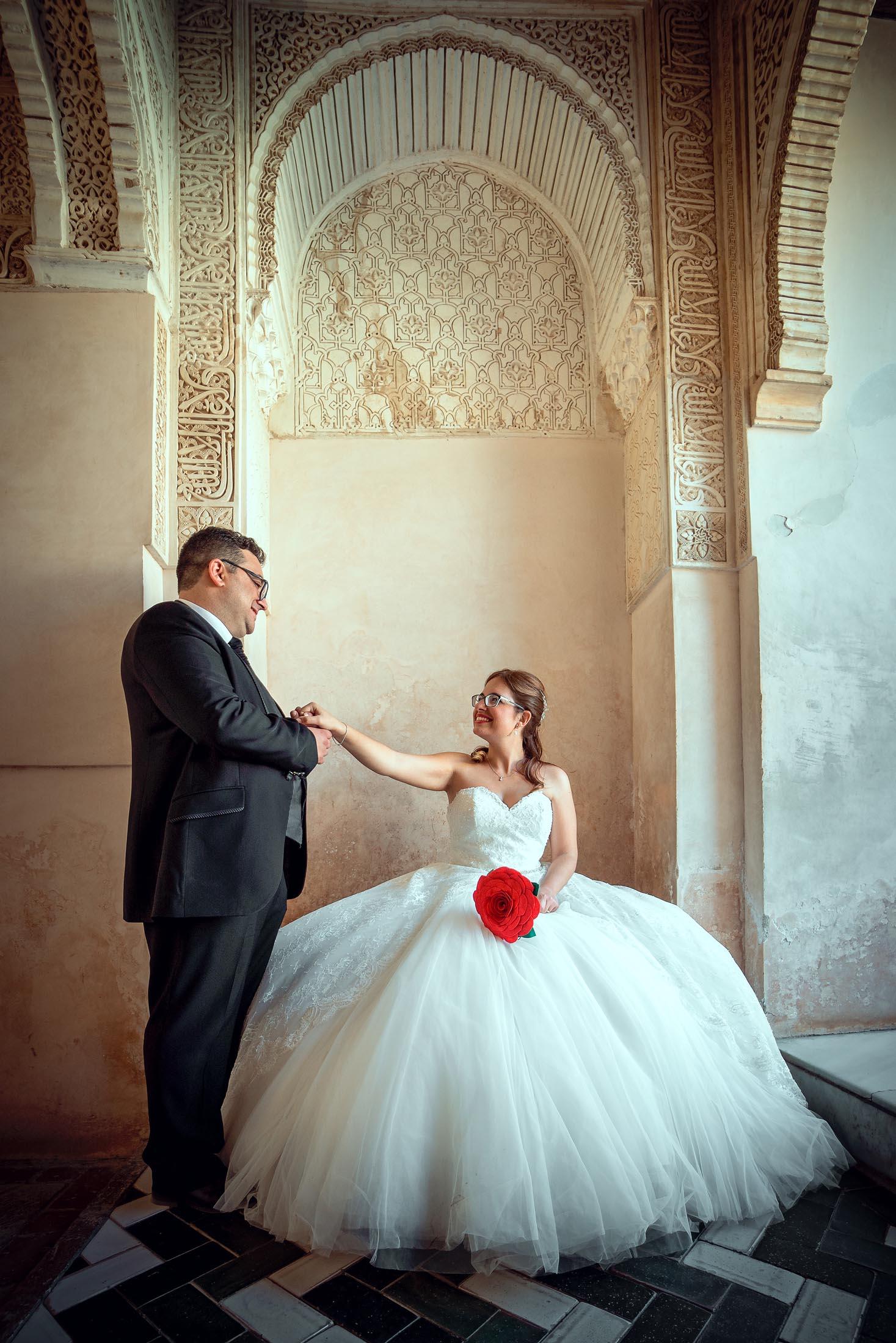 Fotógrafo bodas Alhambra