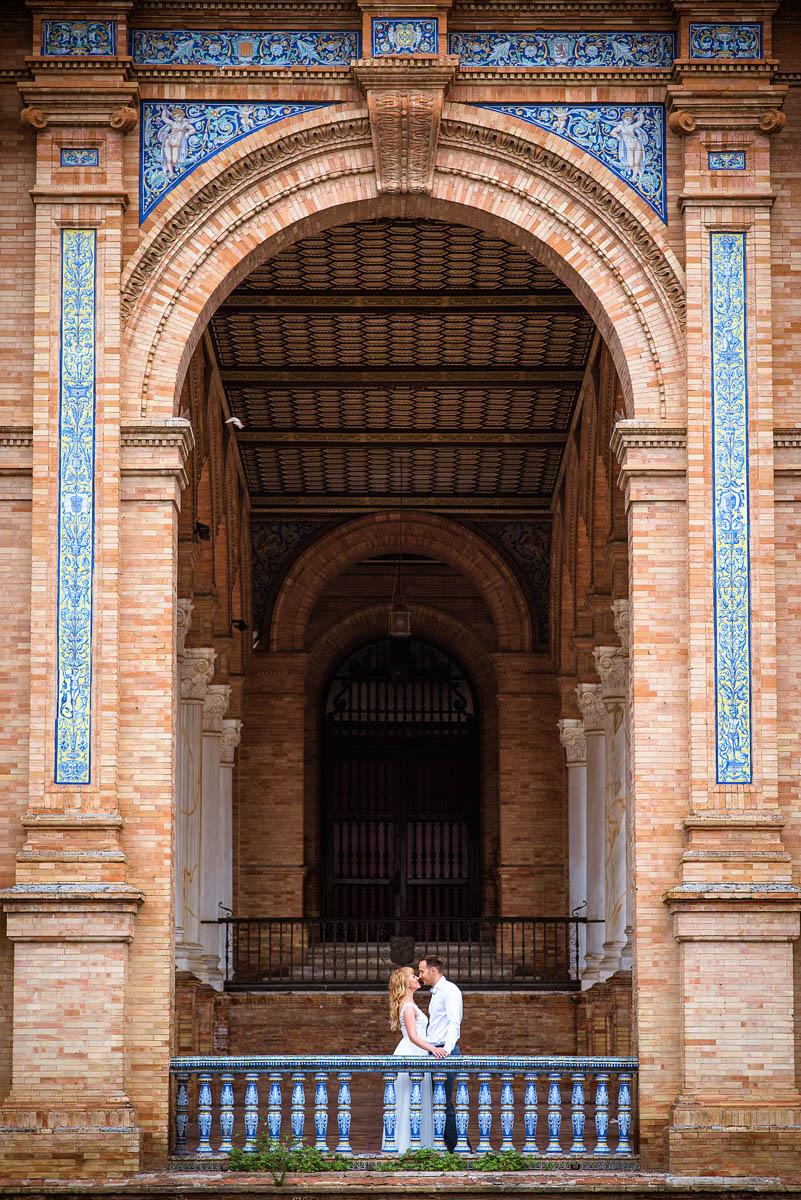 Свадебная фотосессия в Севилье