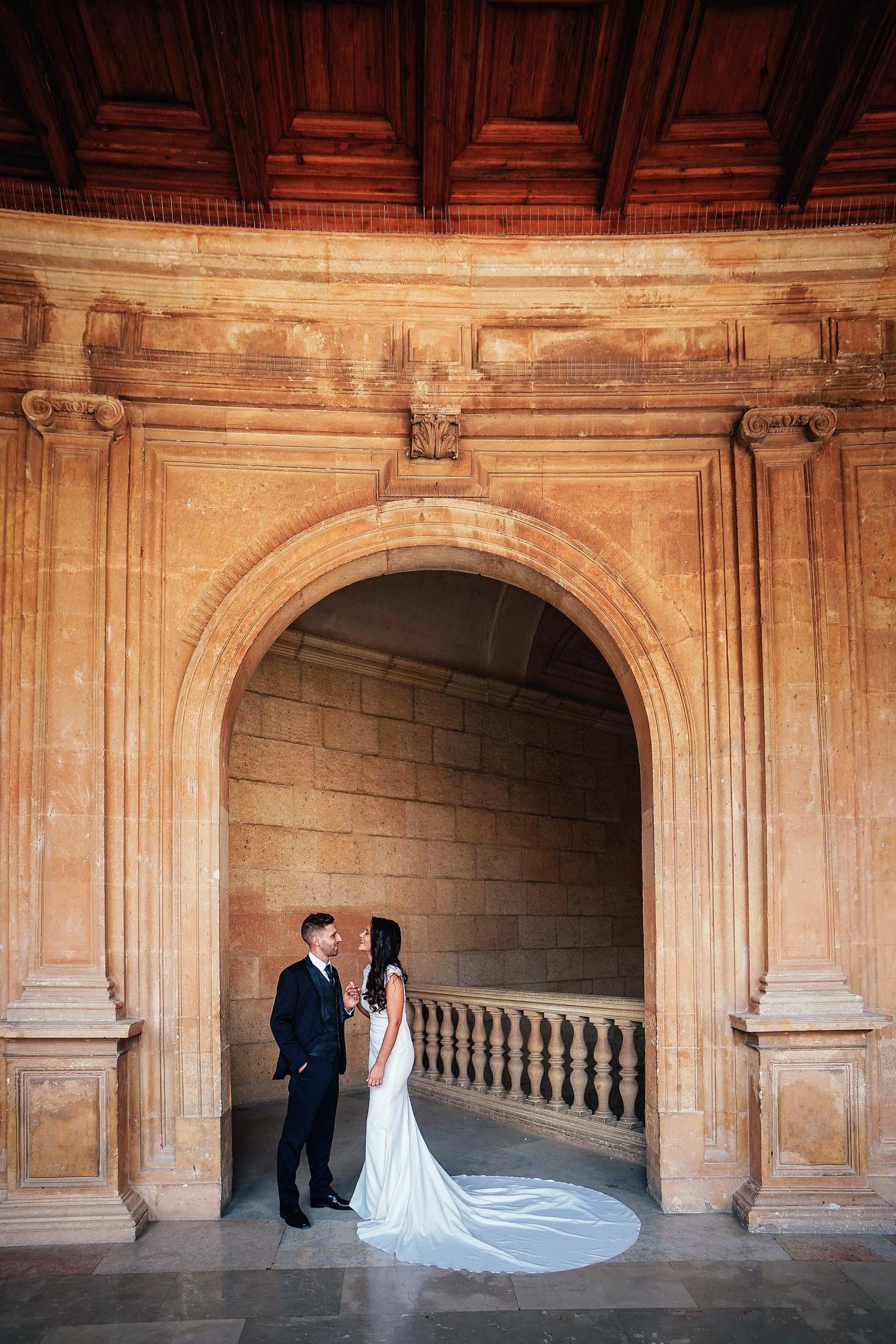 Sesión de post boda en alhambra
