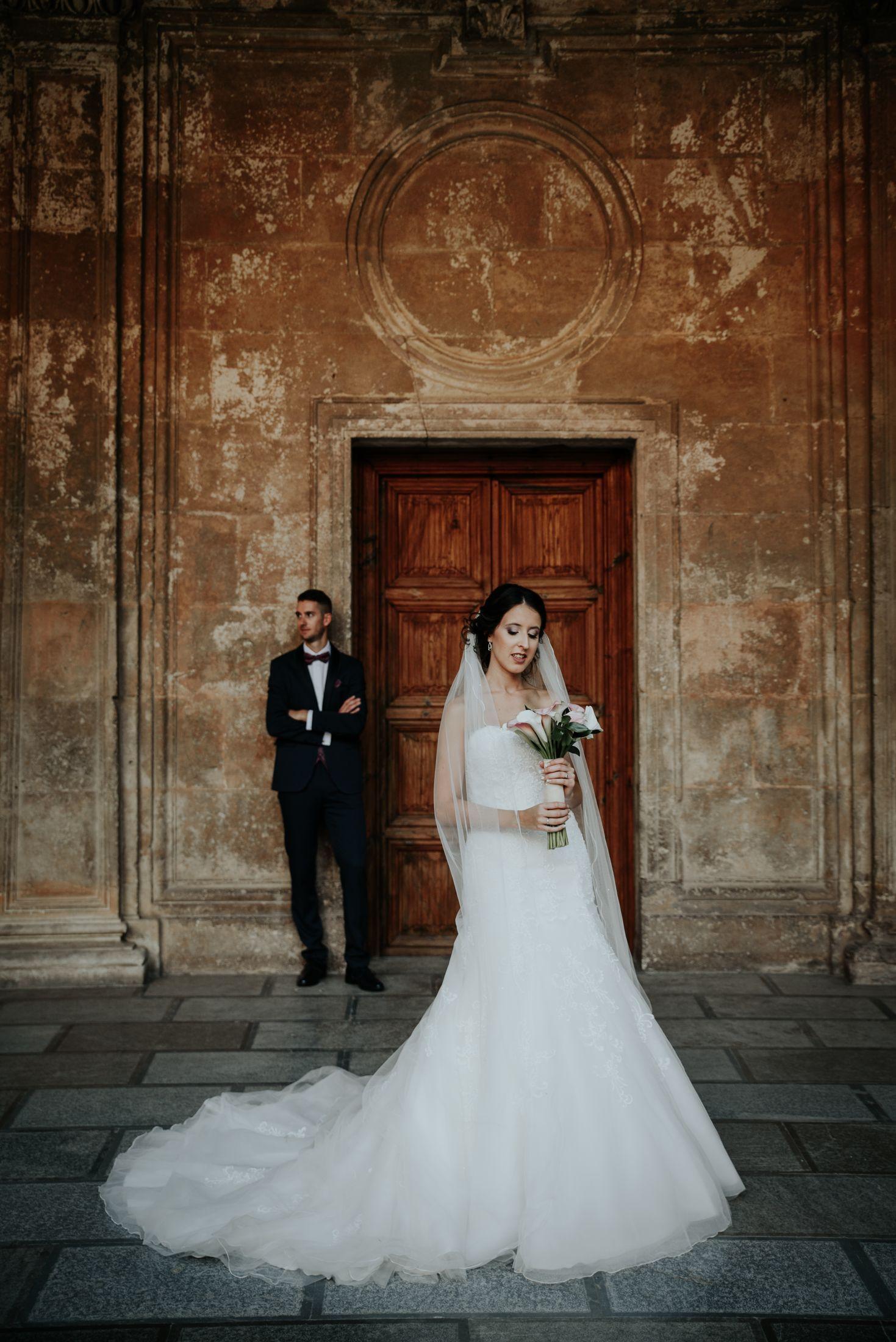 Fotografo de bodas en Alhambra