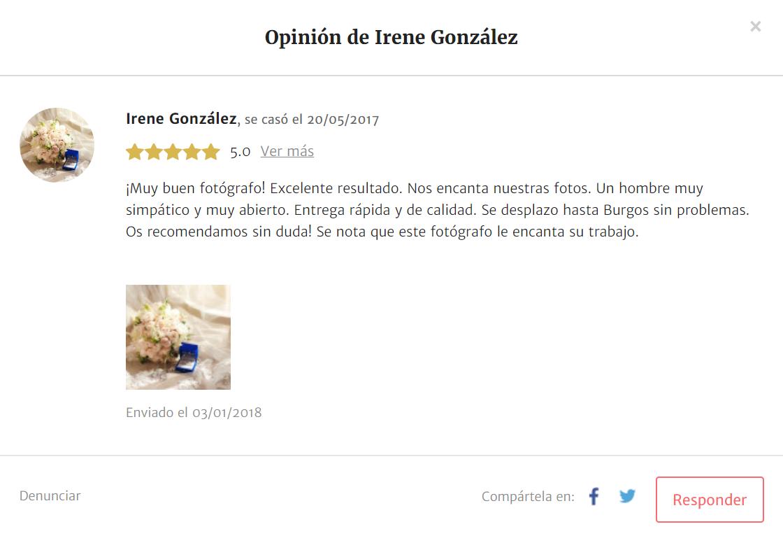 Opiniones WedFotoNet