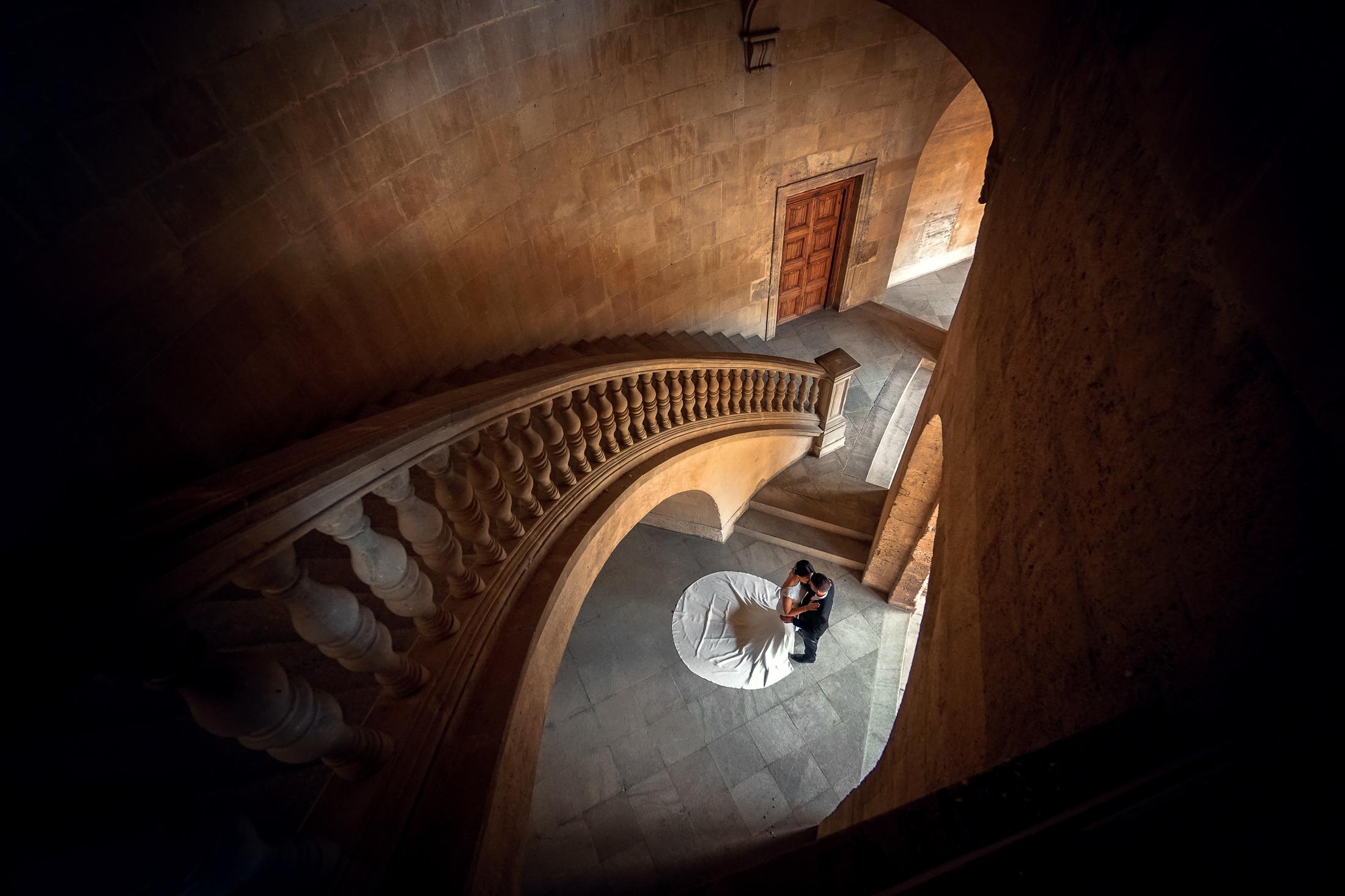 Alhambra Wedding - Palace of Charles V