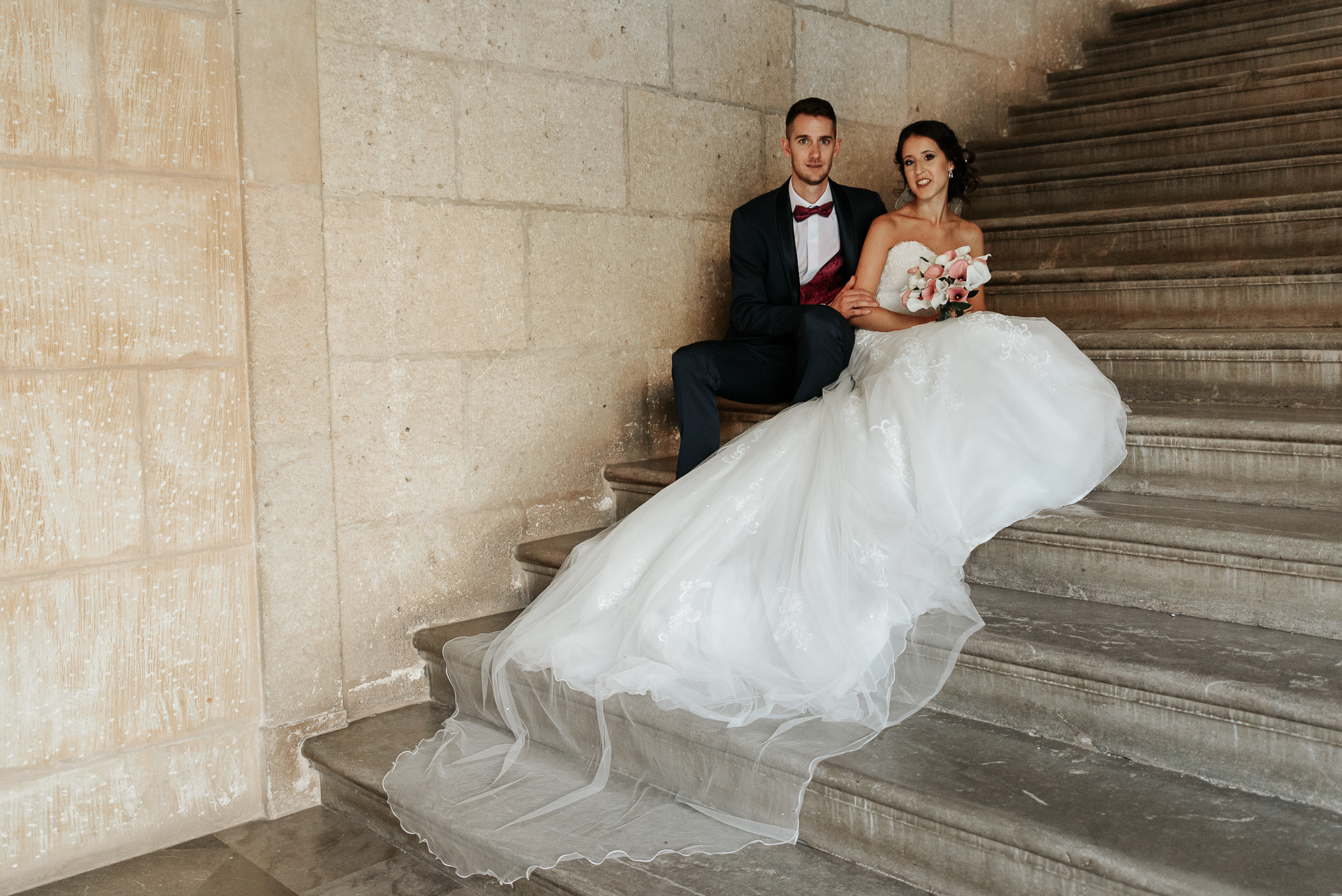 Nice couple - Wedding in Alhambra