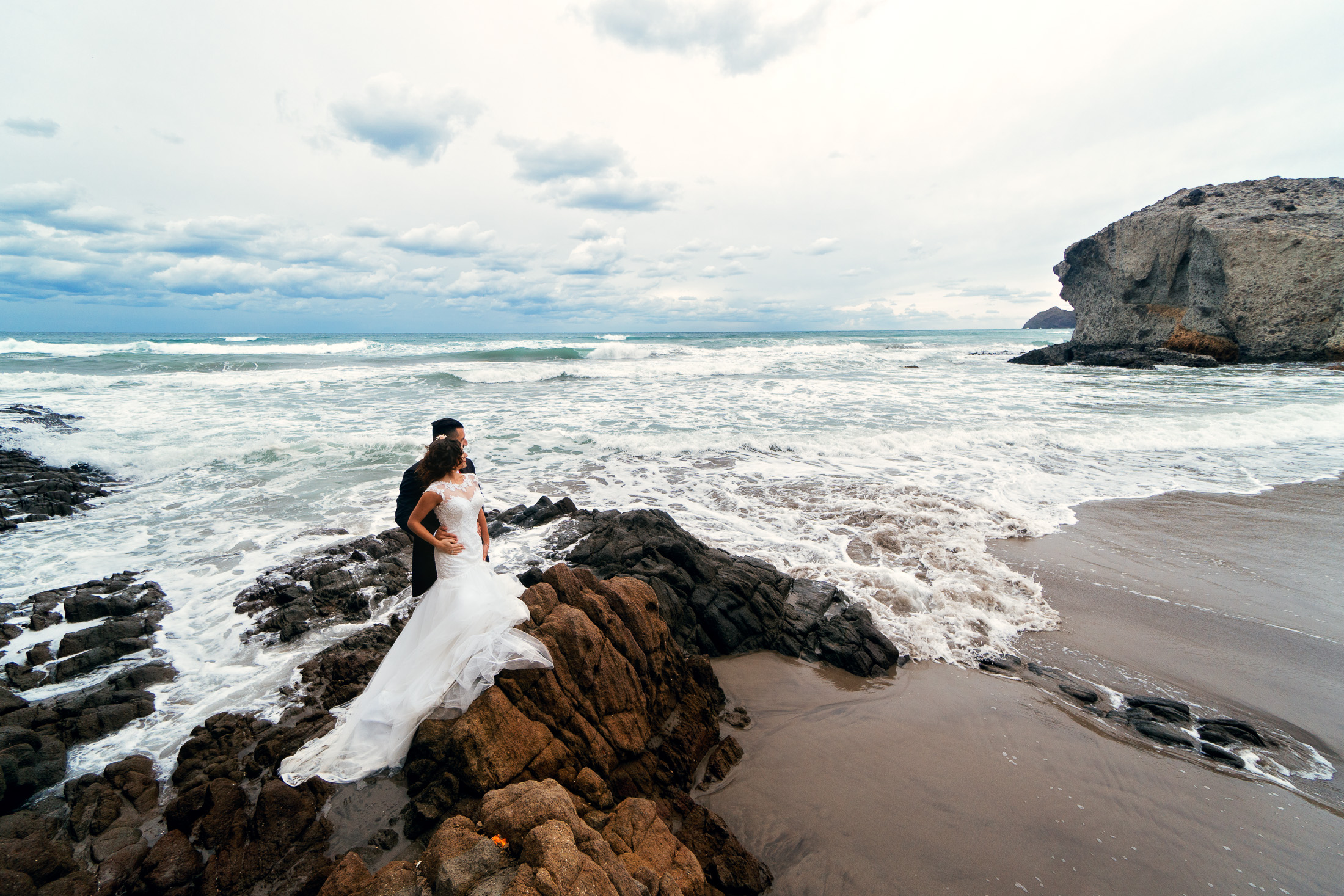 Post boda - playa de Monsul