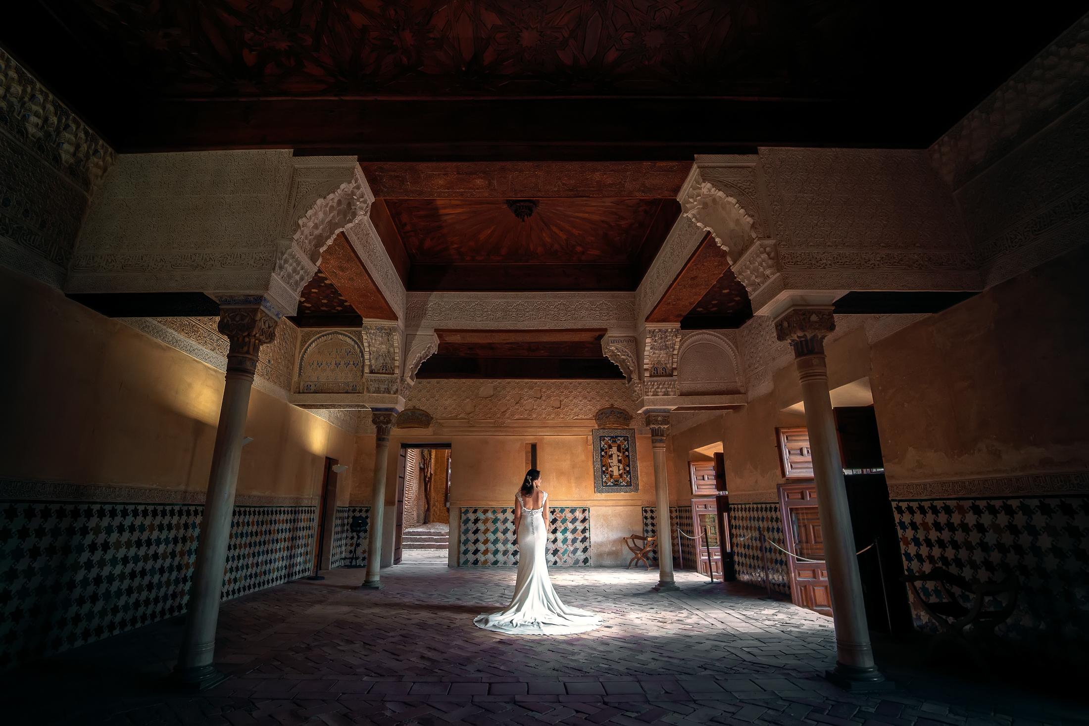 Sala de Mexuar, post boda en Alhambra