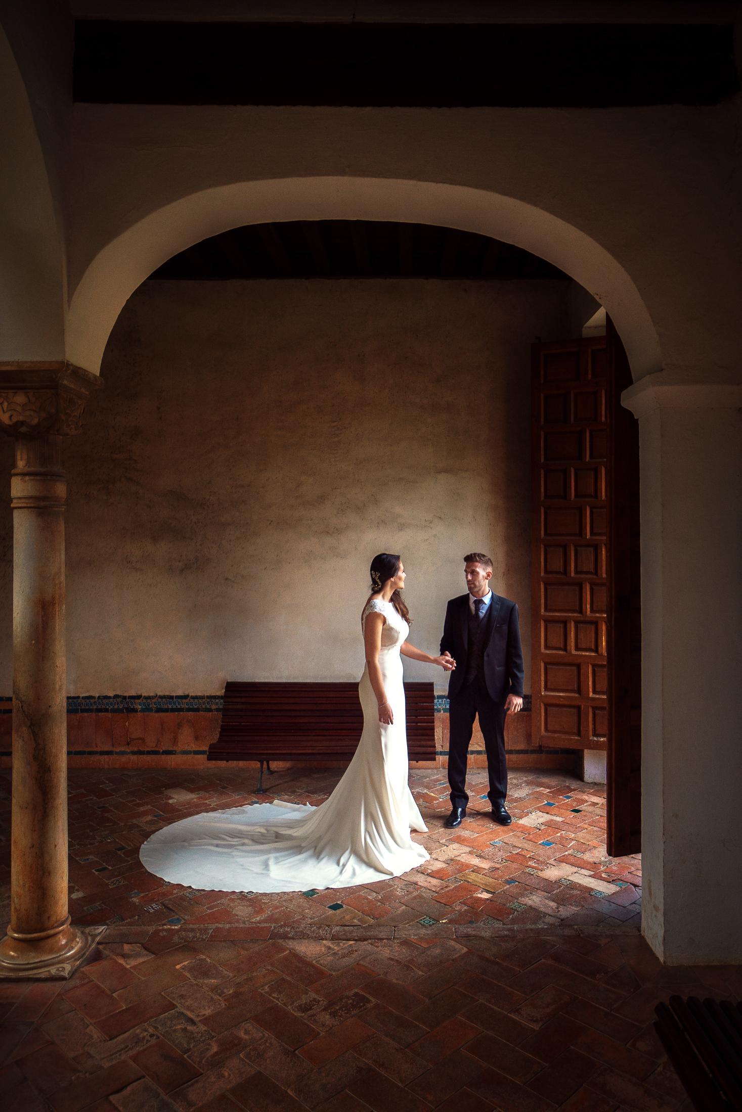 Jardin de Lindaraja. Post boda en Alhambra