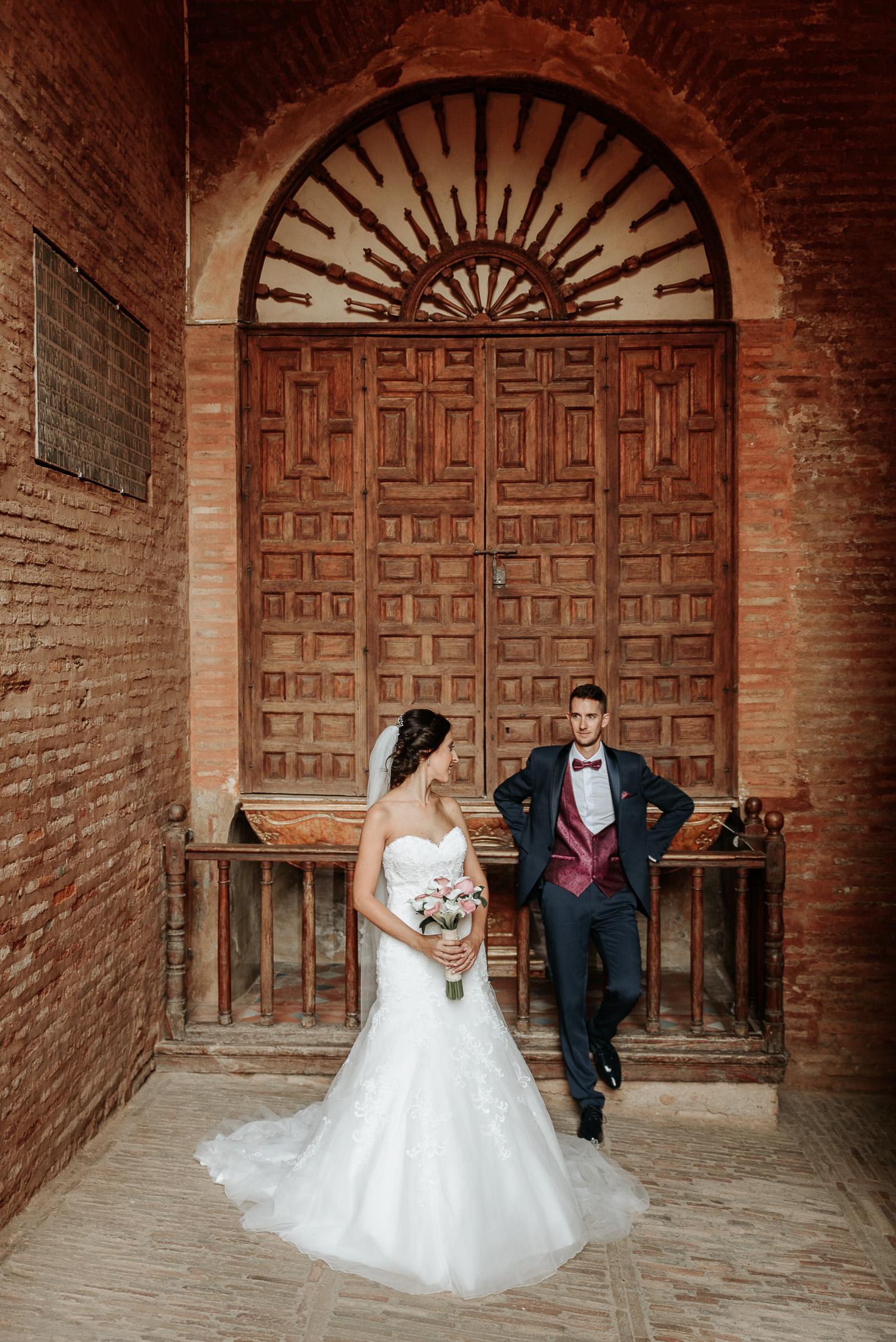 Post boda en Alhambra, puerta de la Justicia