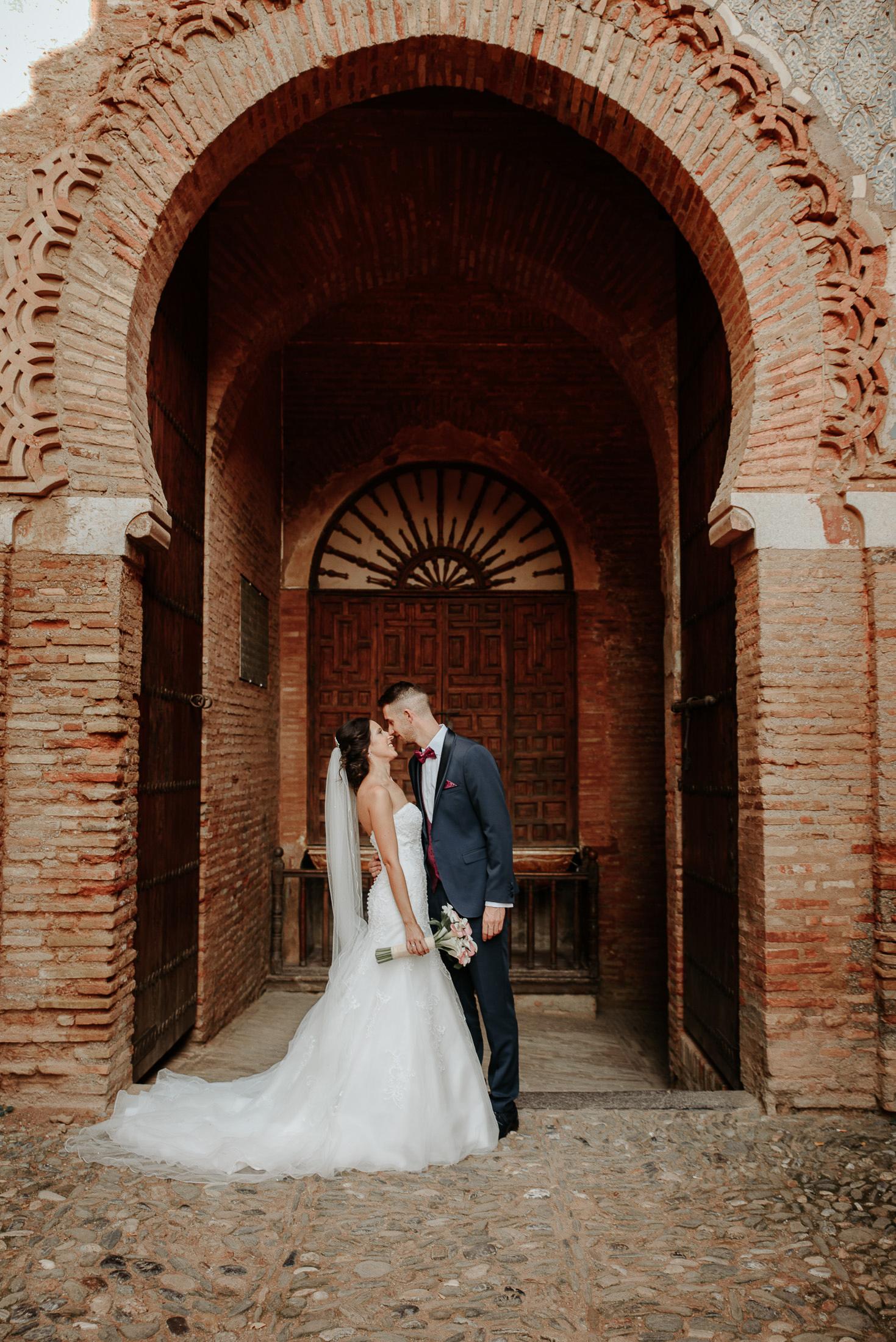 Puerta de la Justicia, post boda en Alhambra