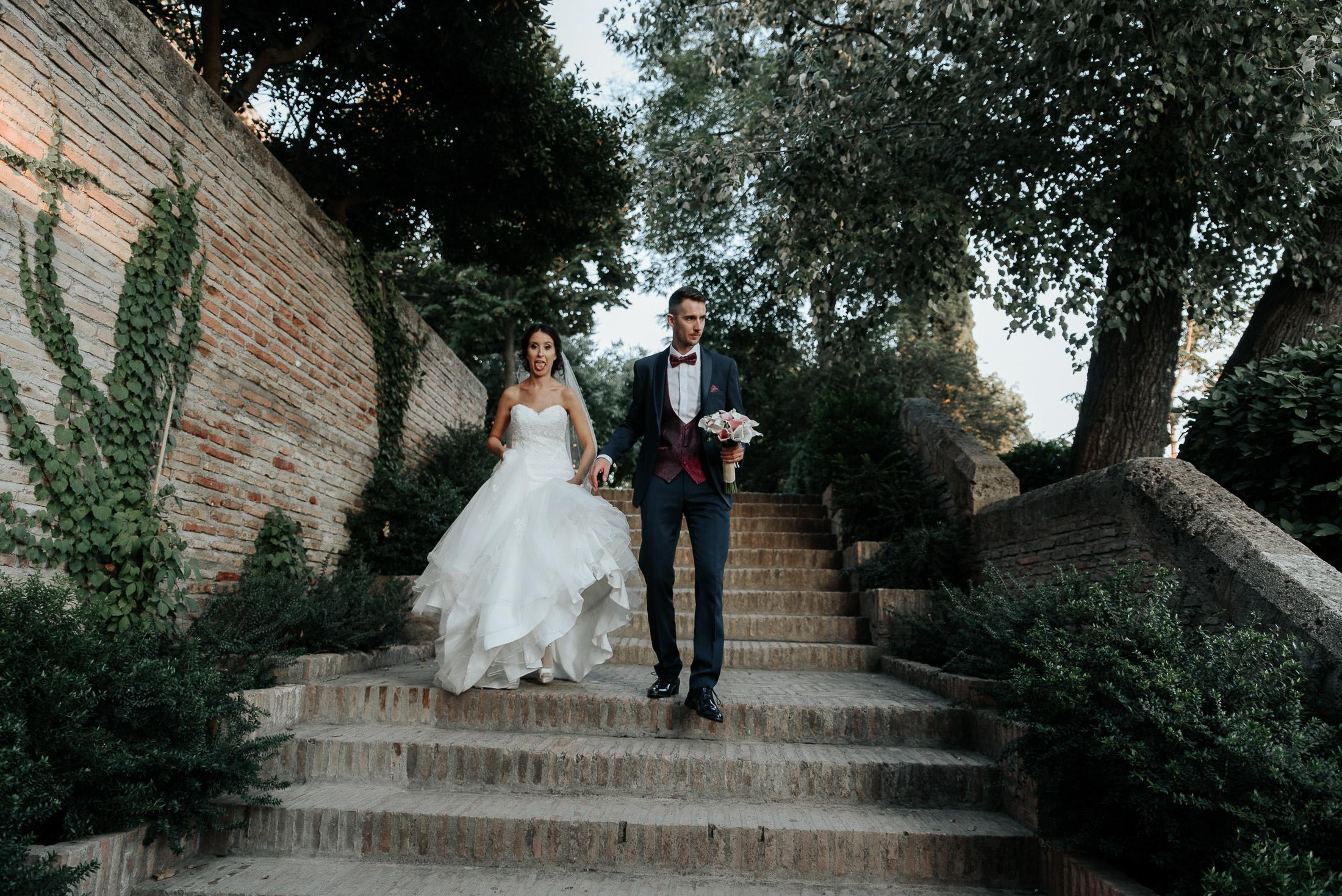 Divertida Postboda en Alhambra