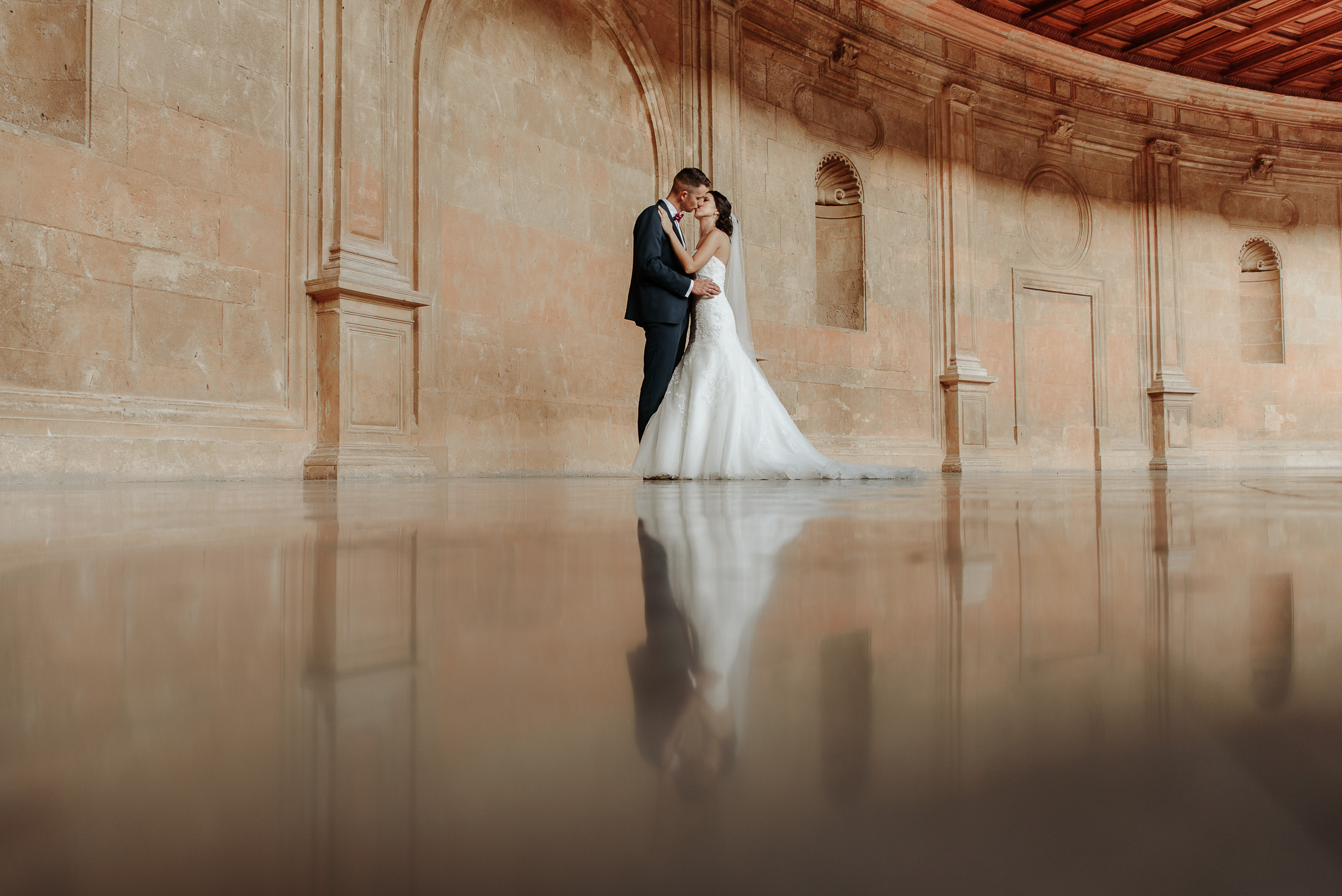 Reflections of Alhambr, Wedding in Alhambra