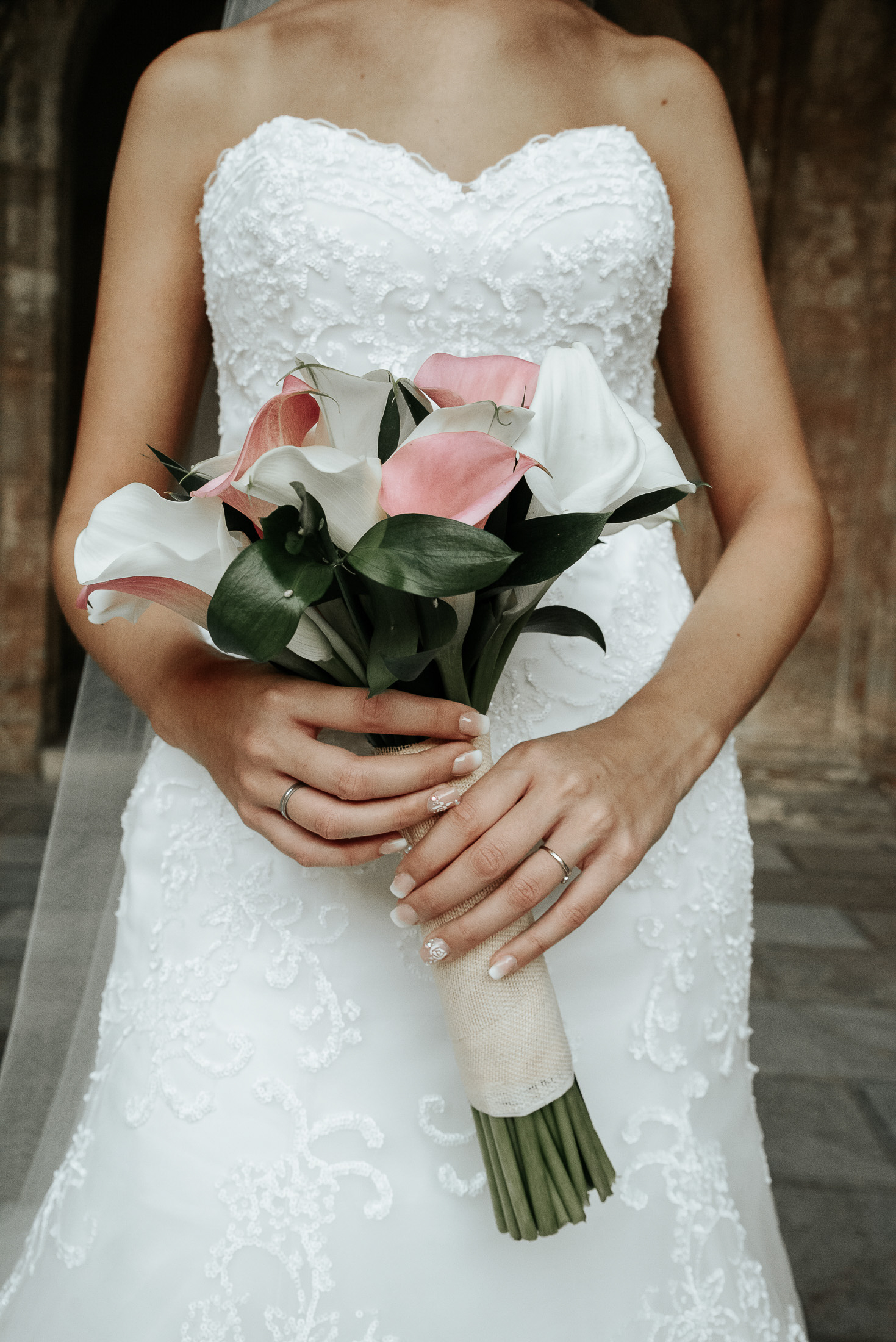Wedding in Alhambra - Bridal Bouquet