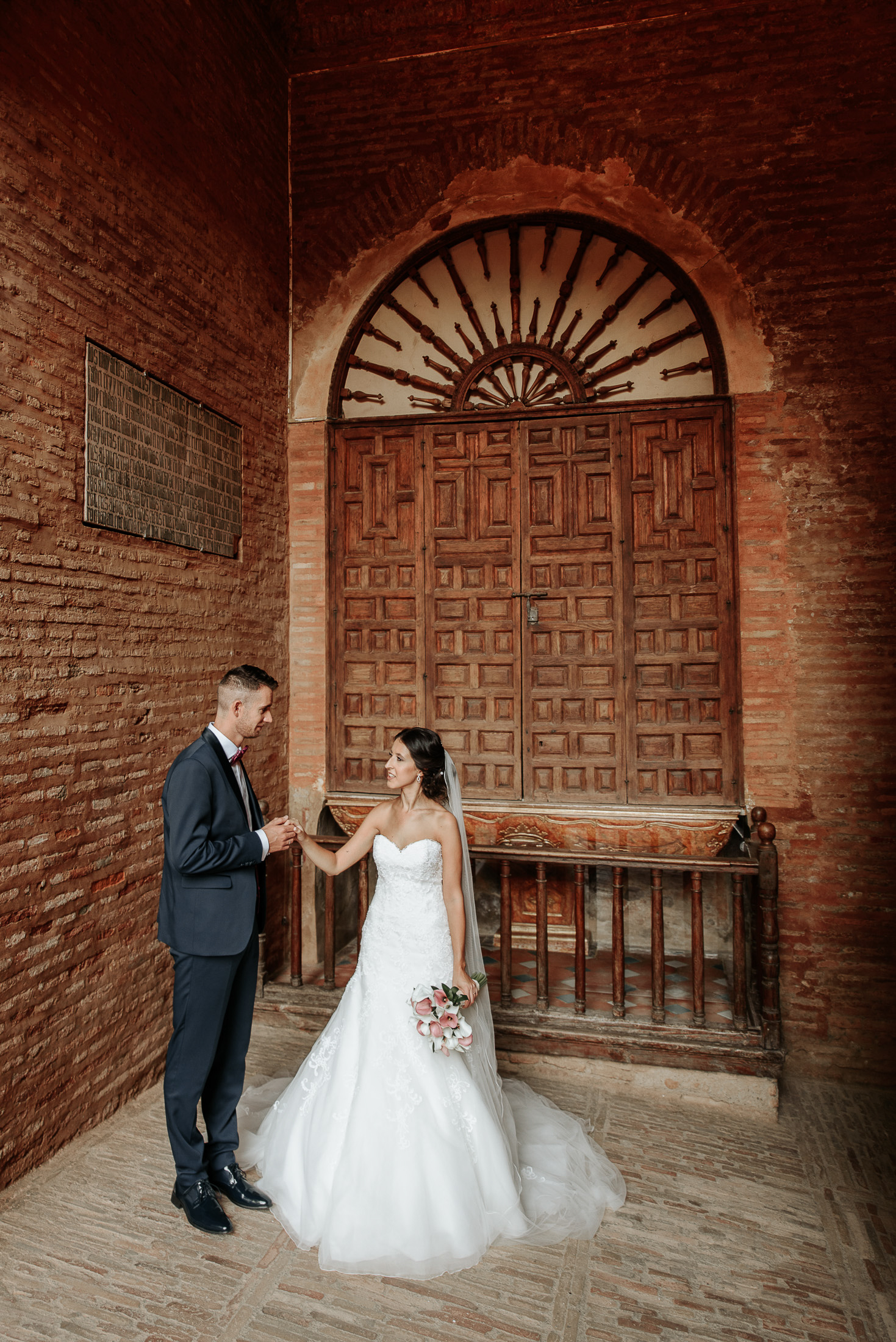 Wedding in Alhambra - Gate of Justice