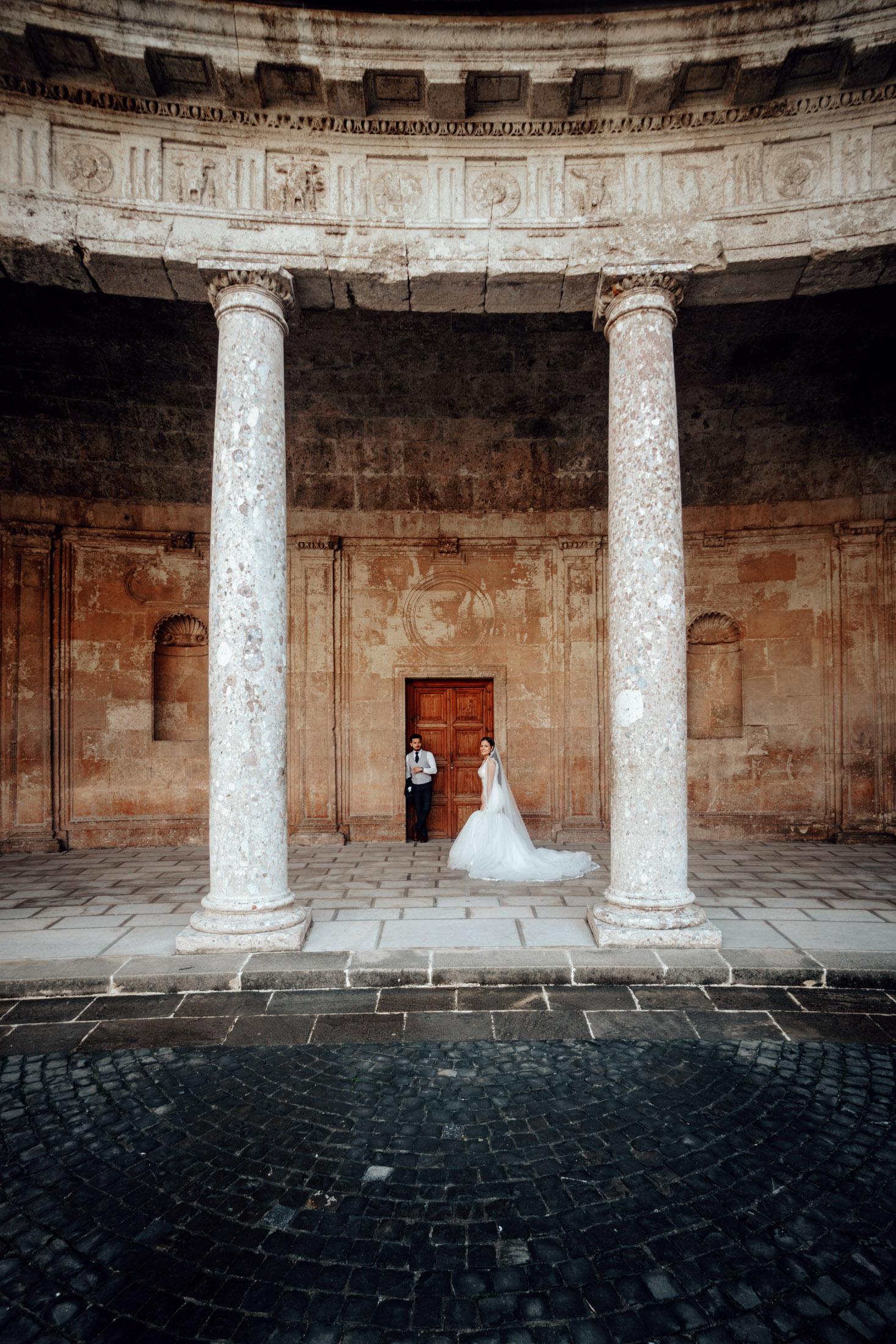 Wedding photographer in Alhambra