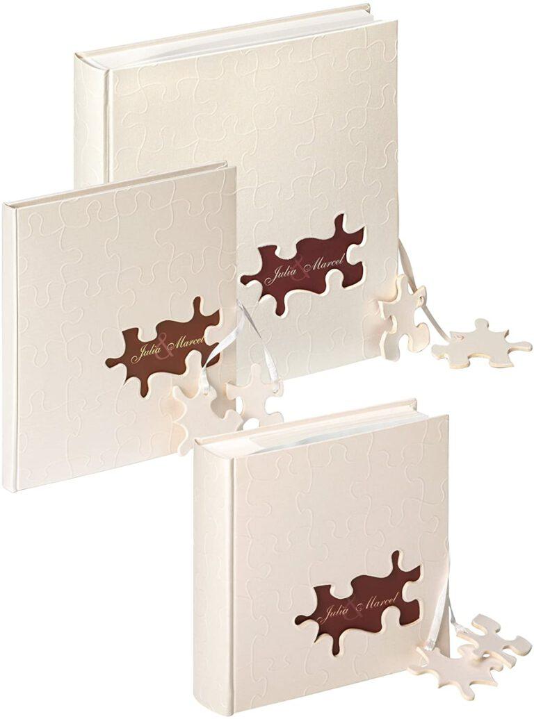 Libro De Firmas, 23x25 cm, 144 Páginas Blancas (6)