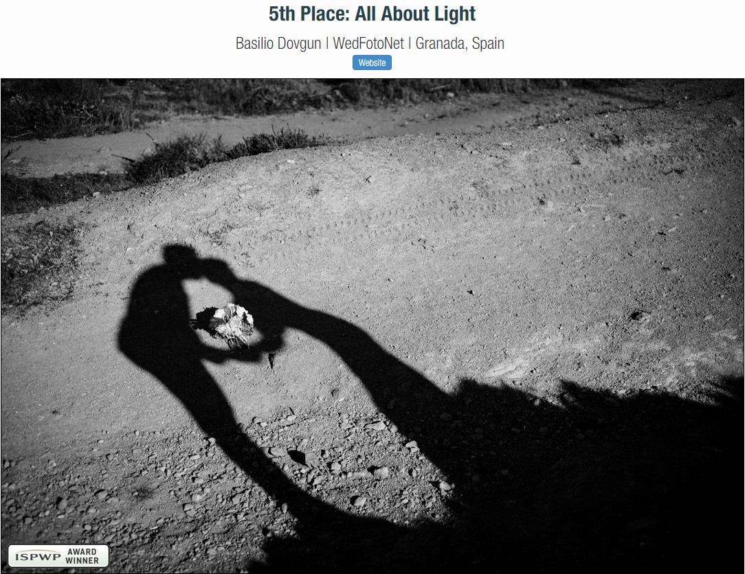 Ganador concurso ISPWP - All About Light