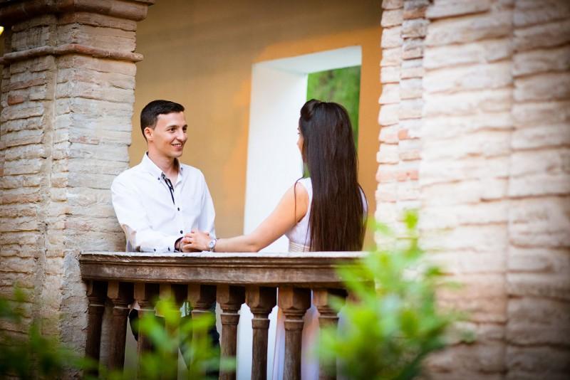 Una pre boda romántica en Albaicin.
