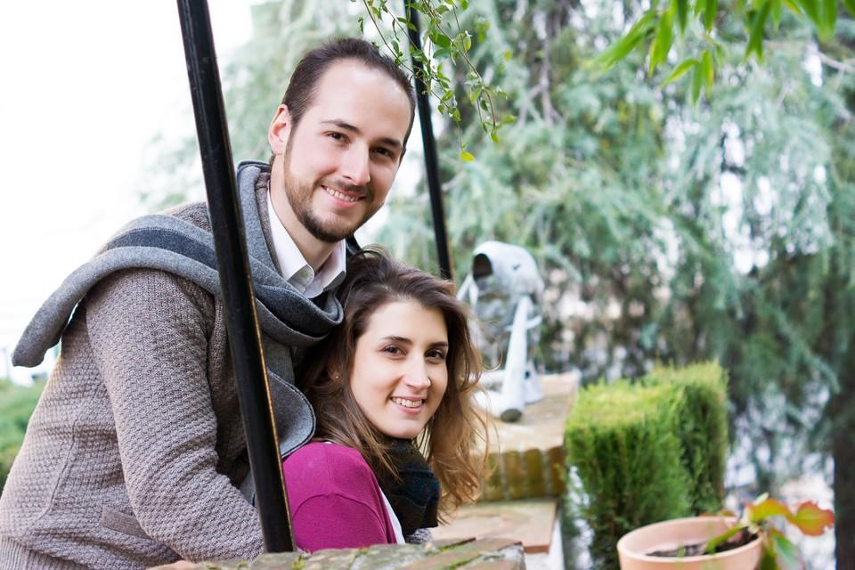 PreBoda en Granada. Carmen y Jesus