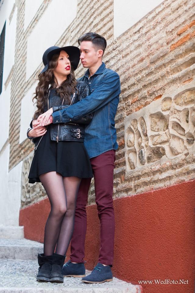 Preboda en Granada con Silvia y Fran