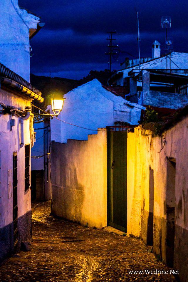 Calles de Albaicin por la noche